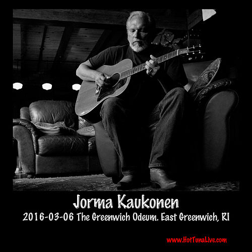 2016-03-06 the Greenwich Odeum, East Greenwich, Ri by Jorma Kaukonen