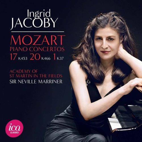 Mozart: Piano Concertos Nos. 1, 17 & 20 by Ingrid Jacoby