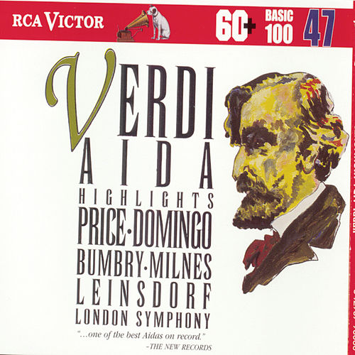 Verdi: Aida Highlights by Placido Domingo