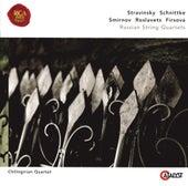 Stravinsky, Schnittke, Roslavets, Smirnov, Firsova: Russian String Quartets by Chilingirian Quartet