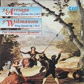 J.C. Arriaga/ J. Wikmanson String Quartets by Chilingirian Quartet