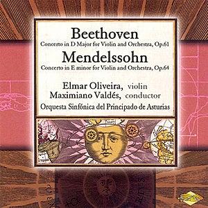 BEETHOVEN / MENDELSSOHN: Violin Concertos by Maximiano Valdes