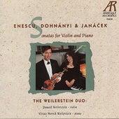 Enescu: Sonata No. 3 - Dohnányi: Sonata for Violin and Piano - Janáček: Sonata for Violin and Piano by The Weilerstein Duo