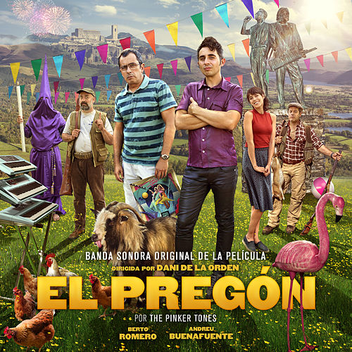 El Pregón (Original Motion Picture Sound Track) by The Pinker Tones
