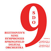 Beethoven's Nine Symphonies, Vol. 3 by Springfield Digital Orchestra