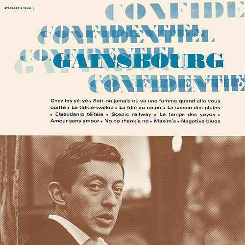 Confidentiel by Serge Gainsbourg