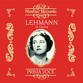 Lehmann in Opera (Recorded 1916 - 1921) by Various Artists
