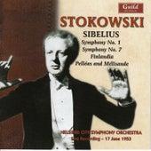 Leopold Stokowski (1882-1977) - Jean Sibelius (1865-1957) by Leopold Stokowski