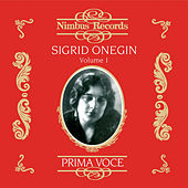 Sigrid Onegin Vol. 1 by Sigrid Onegin
