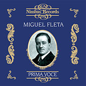 Miguel Fleta (Recorded 1922 - 1927) by Various Artists