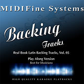Real Book Latin Backing Tracks, Vol. 05 (Play Along Version) by MIDIFine Systems