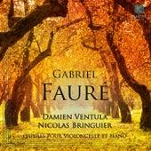 Gabriel Fauré: Oeuvres pour Violoncelle et Piano by Damien Ventula and Nicolas Bringuier