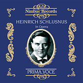Heinrich Schlusnus in Opera by Various Artists