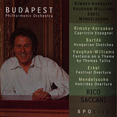 BPO Live: Rimsky-Korsakov, Bartók, Vaughan Williams, Erkel & Mendelssohn by Budapest Philharmonic Orchestra