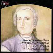 Inventions & Sinfonias BWV 772-801 by Peter Watchorn