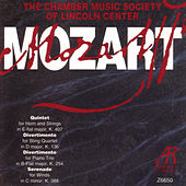 Mozart: Quintet K.407 / Divertimento K.136 / Divertimento K.254 / Serenade K.388 by The Chamber Music Society Of Lincoln Center