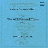 J.S. Bach: The Well-Tempered Clavier, Book II by David Korevaar