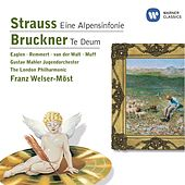 Strauss: Eine Alpensinfonie / Bruckner: Te Deum by Various Artists