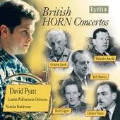 British Horn Concertos by David Pyatt