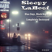 Blue Days, Black Nights / Completely Destroyed Single by Sleepy LaBeef