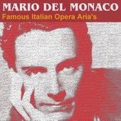 Famous Italian Opera Aria's by Mario del Monaco