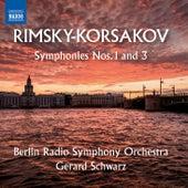 Rimsky-Korsakov: Symphonies Nos. 1 & 3 by Rundfunk-Sinfonieorchester Berlin