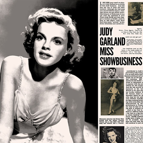 Judy Garland - Miss Showbusiness by Judy Garland
