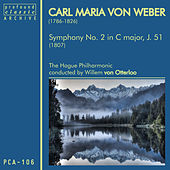 Carl Maria von Weber: Symphony No. 2 in C Major, J. 51 by The Hague Philharmonic