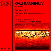Rachmaninov: Concerto for Piano and Orchestra No. 1 & No. 2 by The Hague Philharmonic