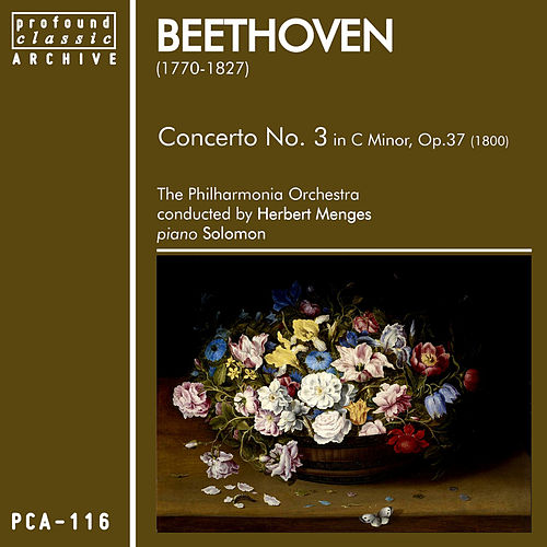 Beethoven: Concerto No. 3 in C Minor, Op. 37 by Philharmonia Orchestra