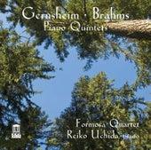 Gernsheim & Brahms: Piano Quintets, Opp. 63 & 34 by Reiko Uchida