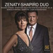 Strauss & Martinů: Violin Sonatas by Ivan Ženatý