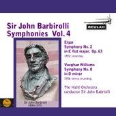 Sir John Barbirolli Symphonies, Vol. 4 by Sir John Barbirolli