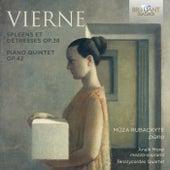 Vierne: Spleens et Détresses & Piano Quintet by Anaïk Morel Müza Rubackyté