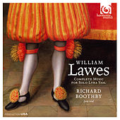 Lawes: Complete Music for Solo Lyra Viol by Richard Boothby