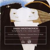 Shostakovich - Symphonie No. 4 by Yuri Simonov