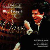 Respighi - Pines of Rome & Fountains of Rome by Budapest Philharmonic Orchestra