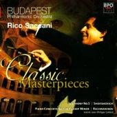 Shostakovich - Symphony No 5 & Rachmaninov - Piano Concerto No 1 by Budapest Philharmonic Orchestra
