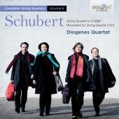 Schubert: Complete String Quartets, Vol. 6 by Diogenes Quartet