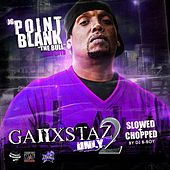 Ganxstas Only, Vol. 2 (Screwed & Chopped) by Point Blank