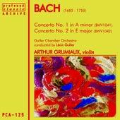 Bach: Violin Concerto in A Minor, BWV 1041 & Violin Concerto in E Major, BWV 1042 by Guller Chamber Orchestra