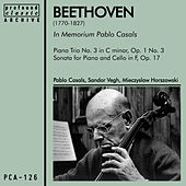 In Memorium Pablo Casals by Mieczyslaw Horszowski
