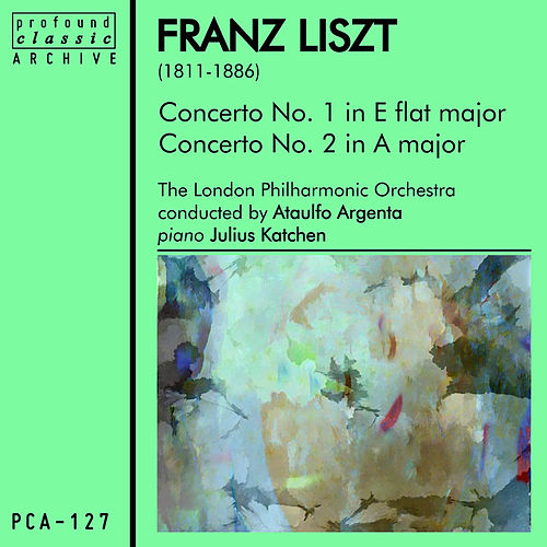 Liszt: Concerto for Piano and Orchestra No. 1 & No. 2 by London Philharmonic Orchestra