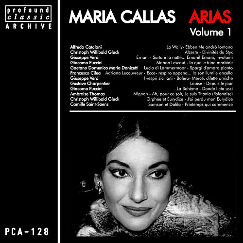 Arias, Vol. 1 by Maria Callas