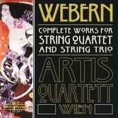 Webern: Complete Works for String Quartet & String Trio by Artis Quartet