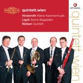 Hindemith, Ligeti & Nielsen: Wind Quintets by Quintett.Wien