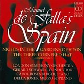 FALLA, M.: Nights in the Garden of Spain / The 3-Cornered Hat (De Falla's Spain) (Schwarz) by Various Artists