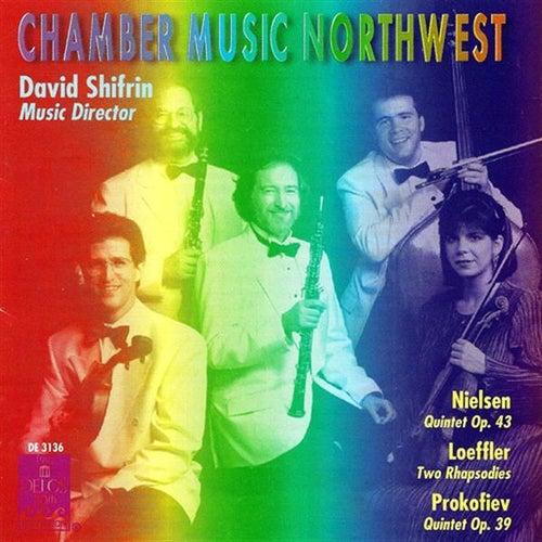 NIELSEN, C.: Wind Quintet / LOEFFLER, C.: 2 Rapsodies / PROKOFIEV, S.: Oboe Quintet in G minor by Allan Vogel