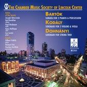 DOHNANYI, E.: Serenade in C major / KODALY, Z.: Serenade / BARTOK, B.: Sonata for 2 Pianos and Percussion by Various Artists