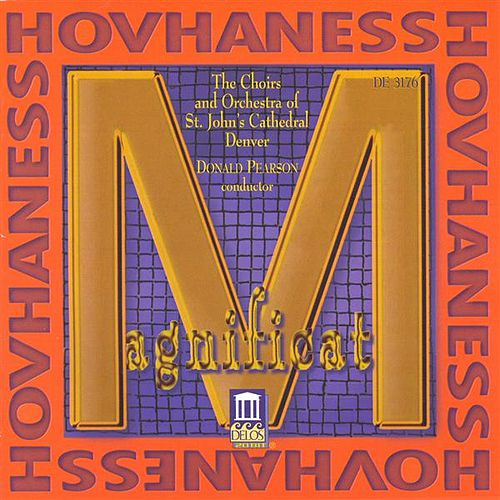 HOVHANESS, A.: Choral Music (Pearson) by Eric Plutz